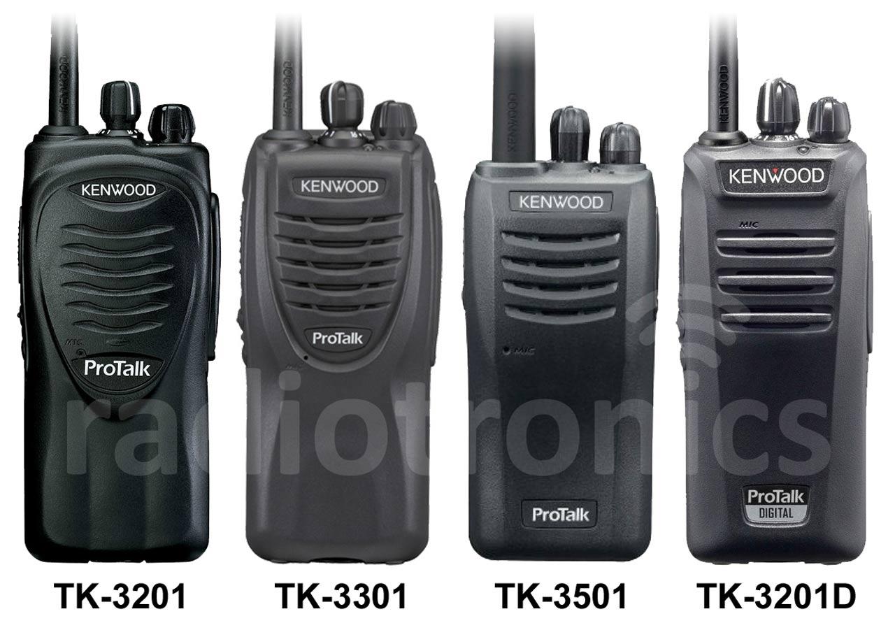 Kenwood Licence Free Radio Lineup