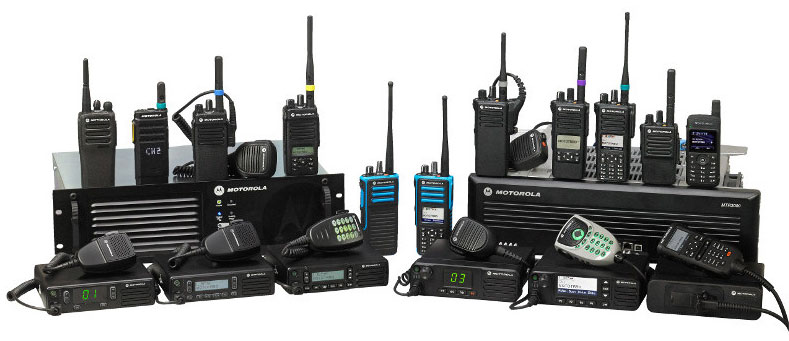 Motorola Digital Two Way Radios