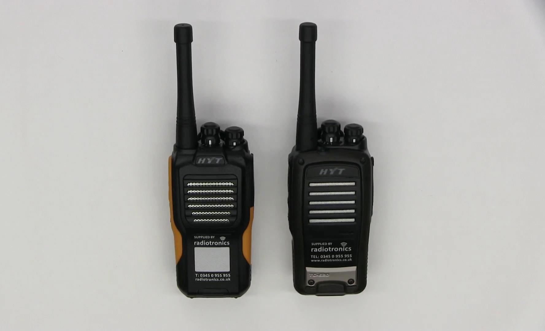 Hytera TC-610 TC-620 Comparison