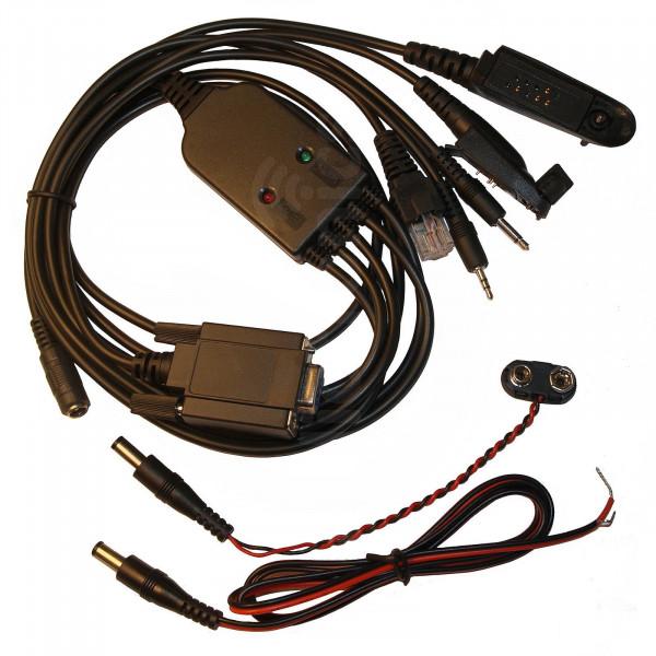 Universal Motorola Serial Analogue Radio Programming Cable