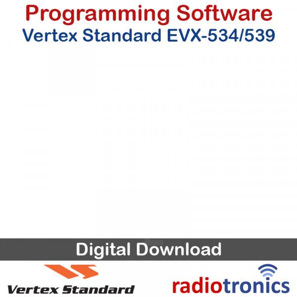Vertex Standard CE-151 EVX-534 & EVX-539 Programming Software
