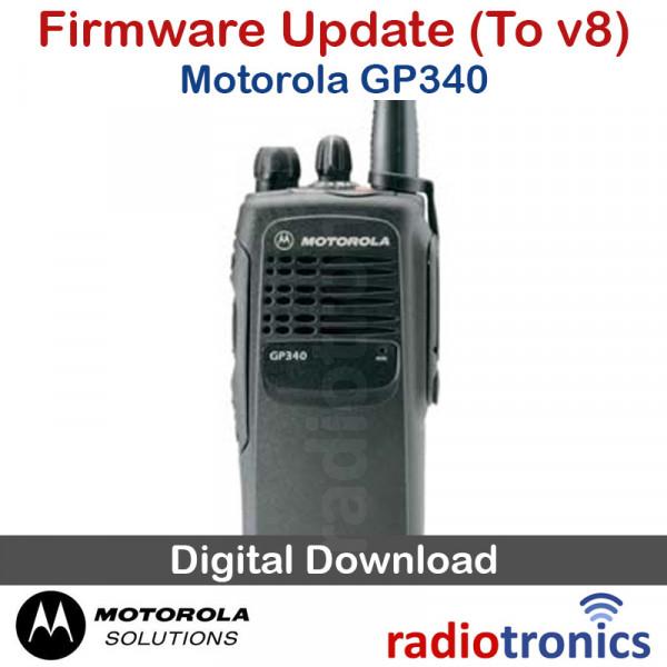 Motorola GP340 Firmware Upgrade (to v8)