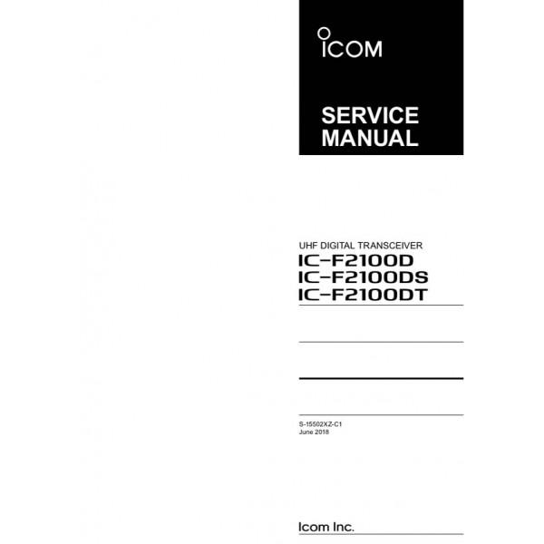 Icom IC-F1100D & IC-F2100D Service Manual