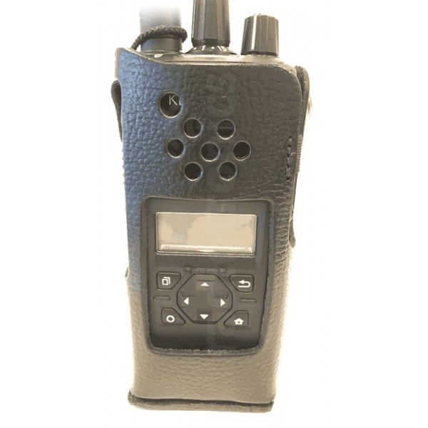 Kenwood KLH-206PGDE2 Leather Case With Swivel Belt Loop & D-Ring