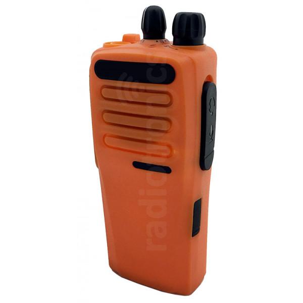 Orange Front Cover Housing (Fits Motorola DP1400)