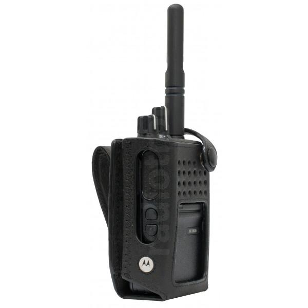 "Motorola DP3441 Nylon Carry Case w/ 3"" Fixed Belt Loop (Hi-Cap)"