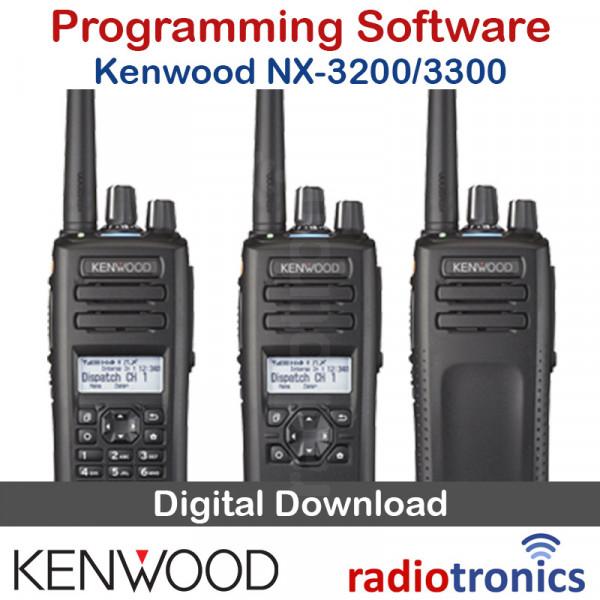 Kenwood NX-3300 & NX-3200 Programming Software & Firmware Upgrade (KPG-D3)