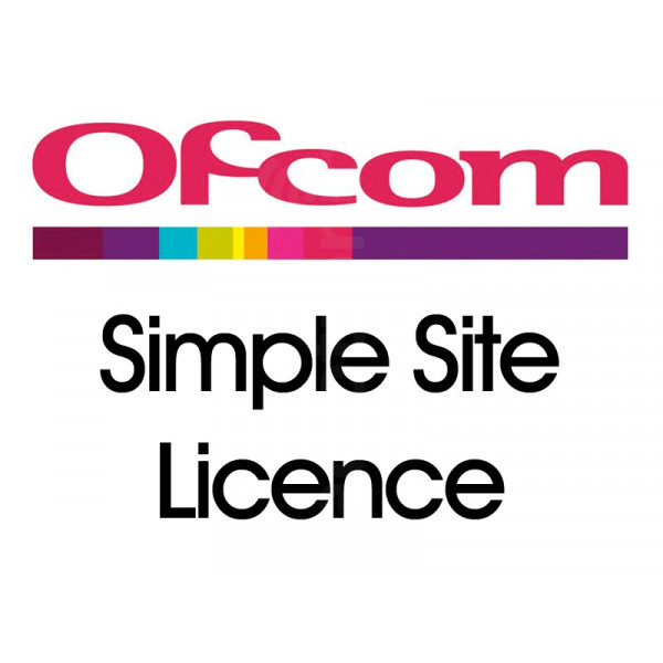 Ofcom Simple Site Licence