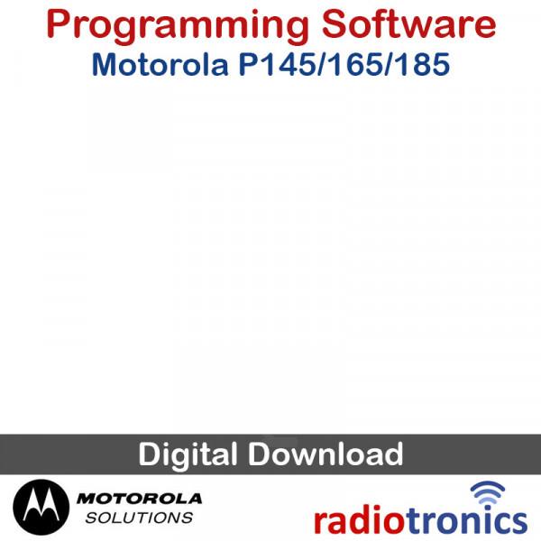 Motorola P145, P165 & P185 Programming Software