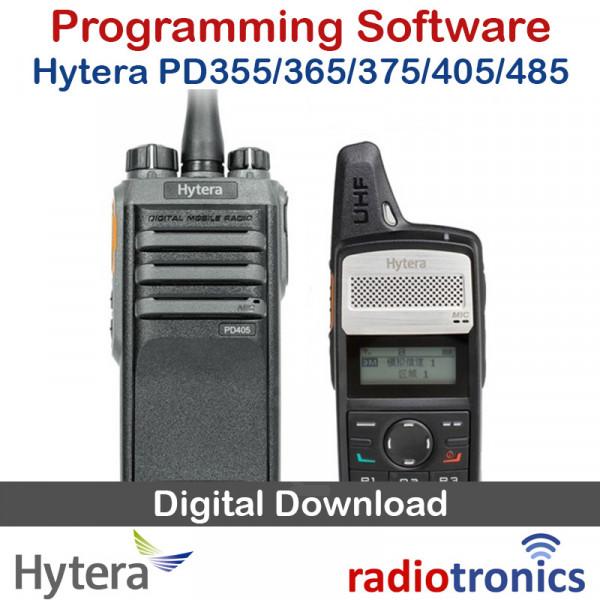 Hytera PD355 PD365 PD375 PD405 PD485 DMR Programming Software