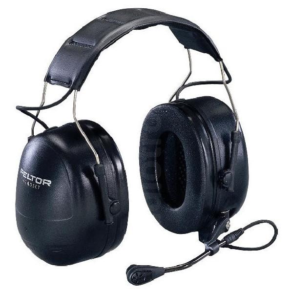 3M Peltor FLEX MT53H79A-77 Headband Headset with PTT & Boom Microphone