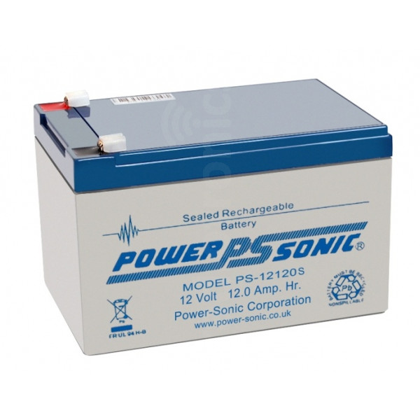 PowerSonic PS-12120 12Ah 12v SLA Battery