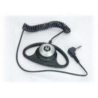 Motorola PMLN7396 Listen Only D-Shape Earpiece for Microphones