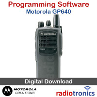 Motorola GP640 Programming Software