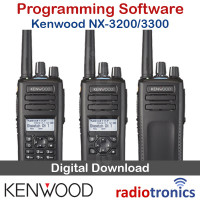 Kenwood NX-3300 & NX-3200 Programming Software & Firmware Upgrade (KPG-D3)