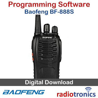 Baofeng BF-888S Programming Software Free Download