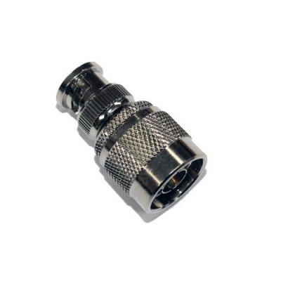 Radiotronics BPNPA50 BNC Male Plug To N-Type Male Adapter