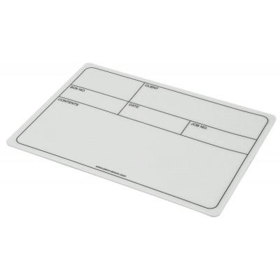 Penn Elcom D2115L Self-adhesive Flight Case 178mm x 127mm Dish Label