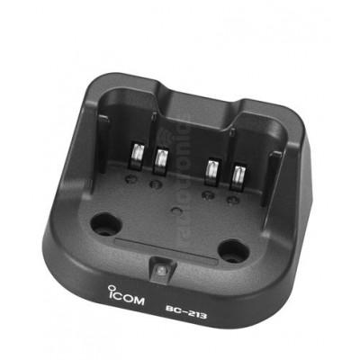 Icom BC-213 IC-F1000 & IC-F2000 Single Charger Pod & PSU