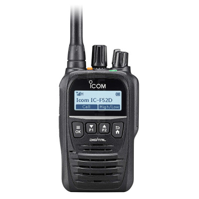 Icom IC-F62D UHF NXDN Digital Two Way Radio