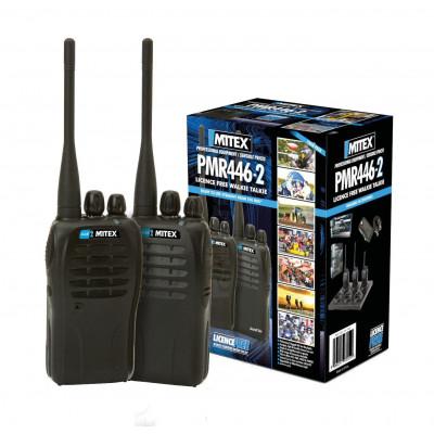 Mitex PMR446 Licence Free Two Way Radio Twin Pack