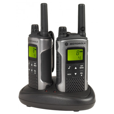 Motorola TLKR T80 Grey Twin Pack