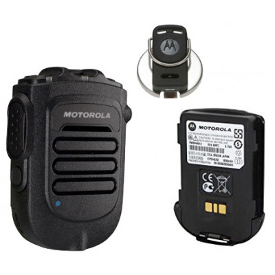 Motorola RLN6544A Wireless Remote Speaker Microphone With No Battery & Belt Clip