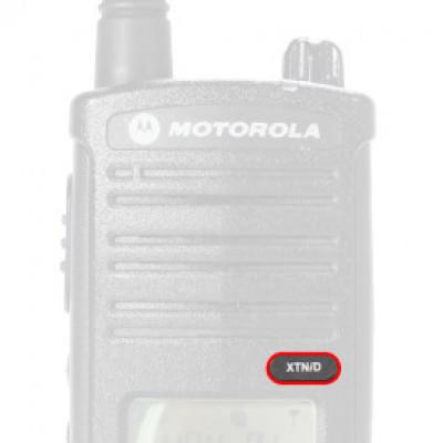 Motorola XTNiD Front Name Badge