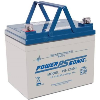 PowerSonic PS-12350 35Ah 12v SLA Battery