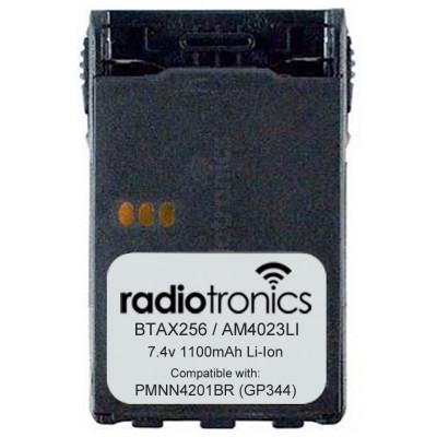 Radiotronics AM-4023LI 1100mAh Lithium Motorola GP344 & GP388 Battery