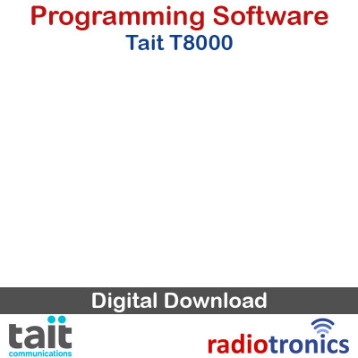 Tait T800 Programming Software