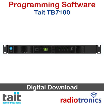 Tait TB7100 Programming Software