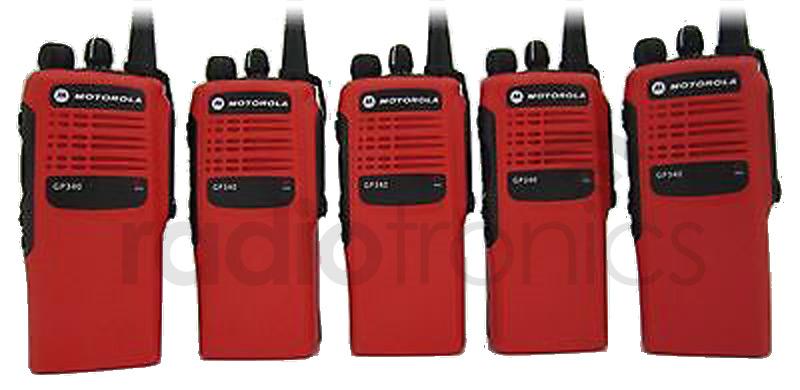 Motorola GP340 Housing Red