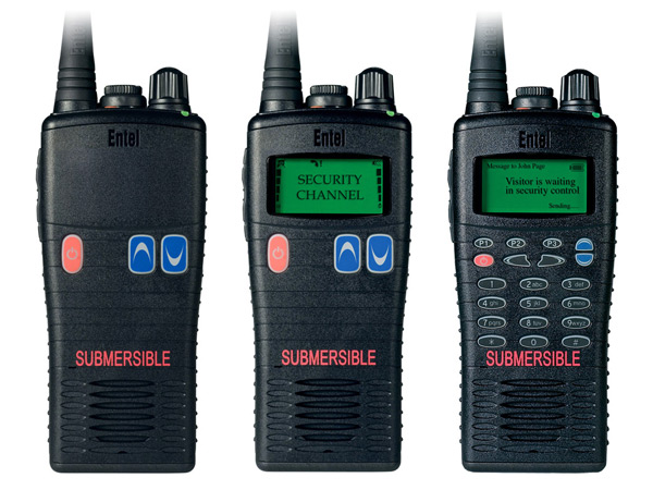 Entel HX/2.0 Series Analogue Two Way Radios