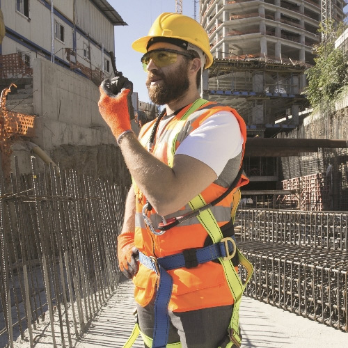 building site two way radio hire