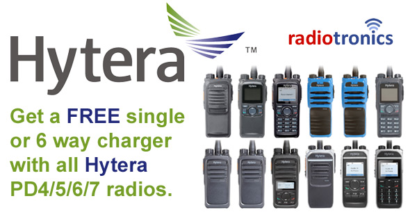 Free Hytera Chargers