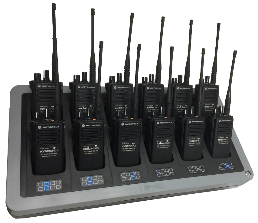 Motorola GP340 (Left)
