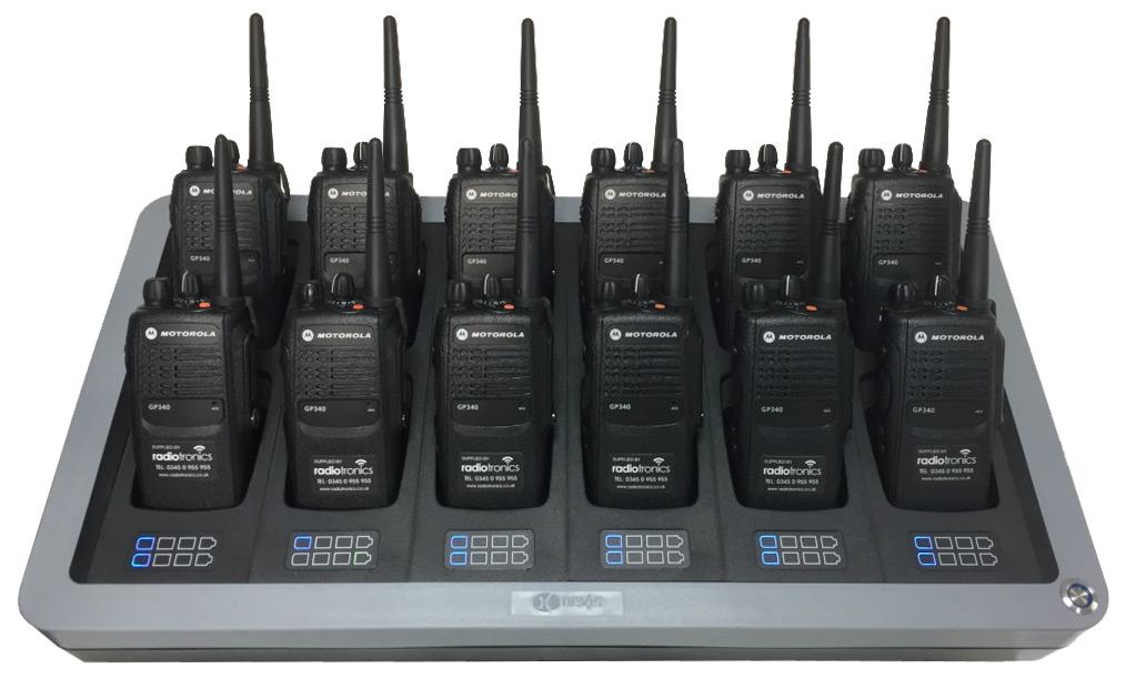 Motorola GP340 (Front)