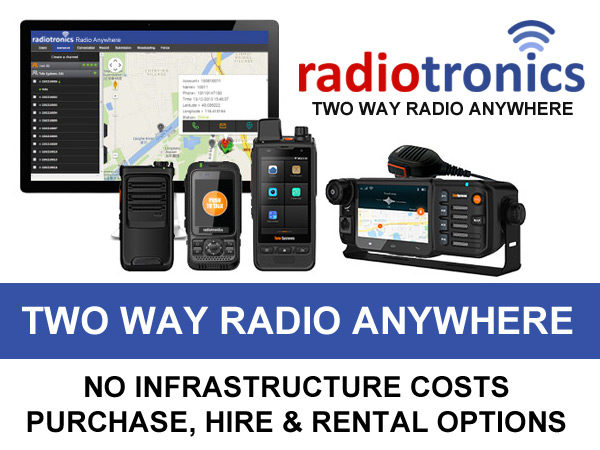 Two Way Radio Anywhere