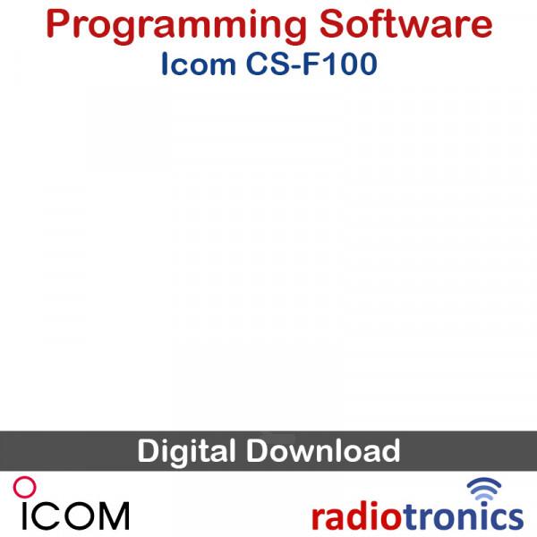 Icom CS-F100 IC-F110 IC-F210 Programming Software