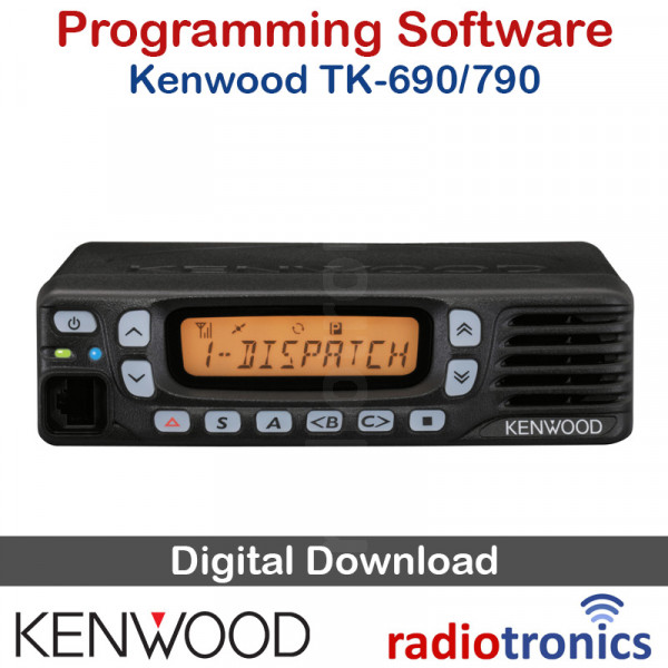 Kenwood KPG-44D (v2 10) TK-690, TK-790, TK-890 Programming Software