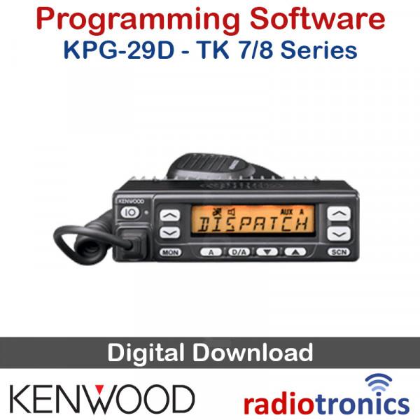 Kenwood KPG-29D (v4 00) Programming Software