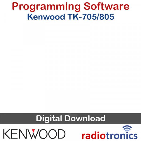 Kenwood KPG-3D (v2 60) TK-705 TK-805 (5 Tone) Programming Software