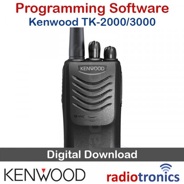 Kenwood KPG-137D TK-2000 & TK-3000 Radio Programming Software