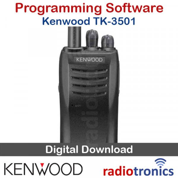 Kenwood KPG-173D TK-3501 Programming Software & Latest Firmware