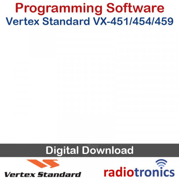 Vertex Standard CE-115 VX-451 / VX-454 / VX-459 Programming Software