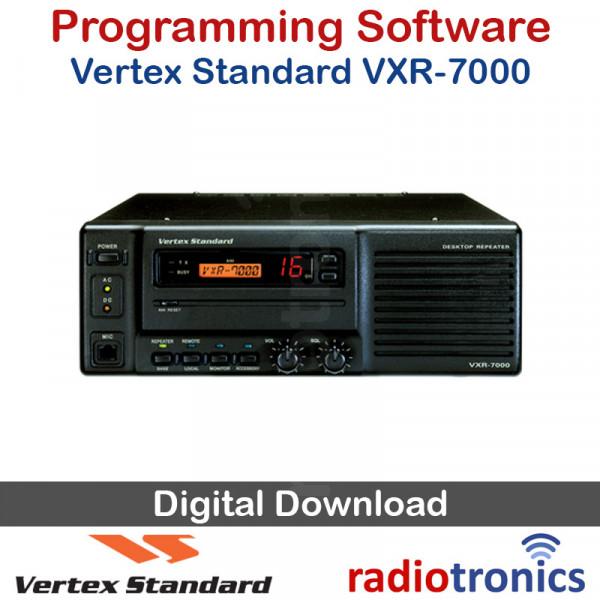 Vertex Standard CE22 v1.09 Program Software for VXR-1000