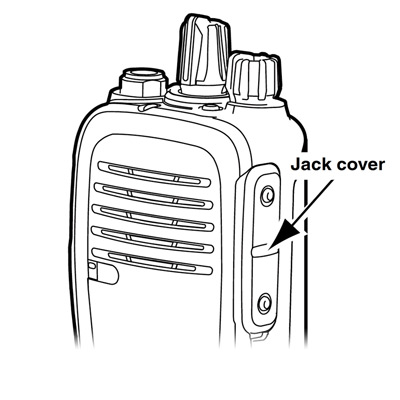 Handheld Radio Diagram